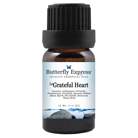 Le Grateful Heart Essential Oil Blend