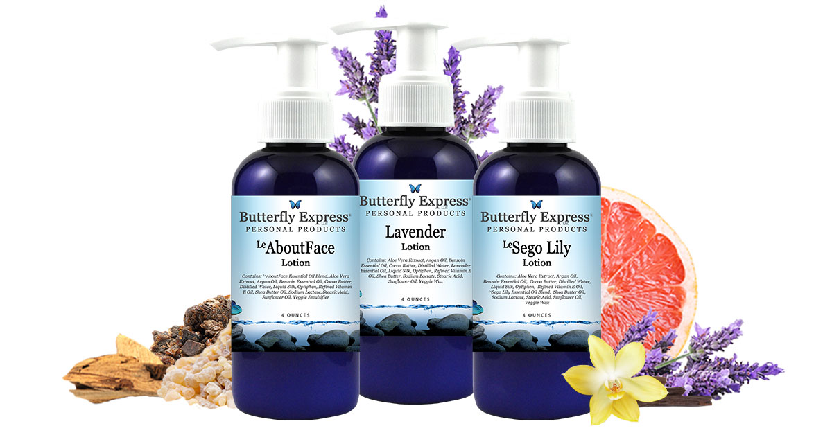 butterfly Express Lotions