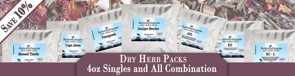 All Dry Herb Packs