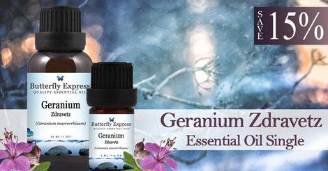 Save 15% on Geranium Zdravetz