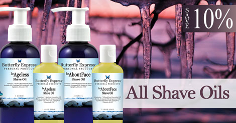 Save 10% on all Shave Oils