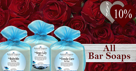 Save 10% on all Bar Soaps