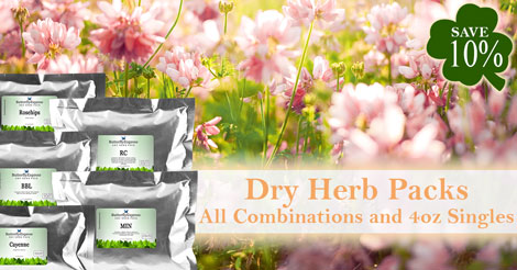 Save 10% on all Herbs