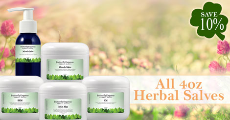 Save 10% on all Salves