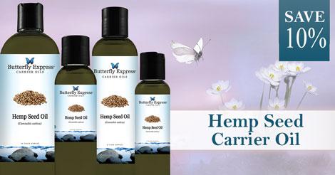 Save 10% on Hemp Seed Carrier Oil