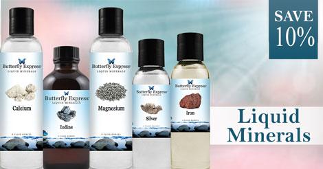 Save 10% on all Liquid Minerals