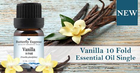 New Vanilla 10 Fold Essential Oil