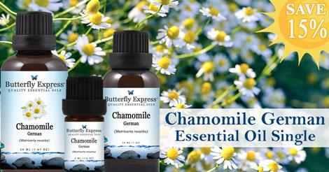 Save 15% on Chamomile German