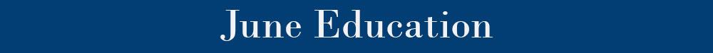 June Education