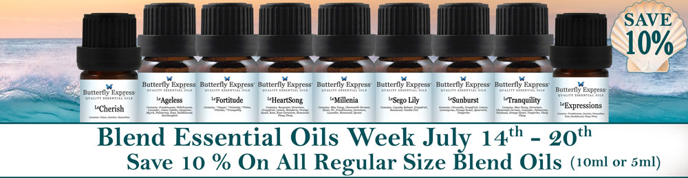 Save 10% on all 10ml Blend Oils