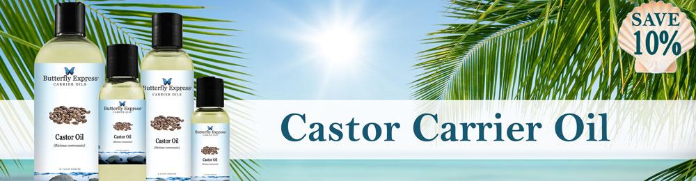 Save 10% on Castor Carrier Oil
