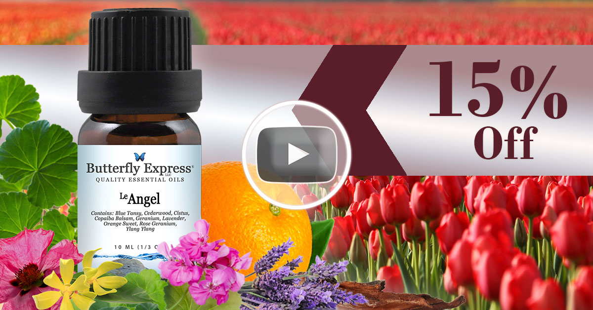 Le Angel Essential Oil Blend