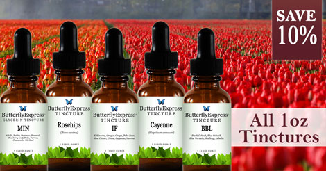 Save 10% on all 1oz Tinctures