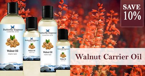 Save 10% on Walnut Oil