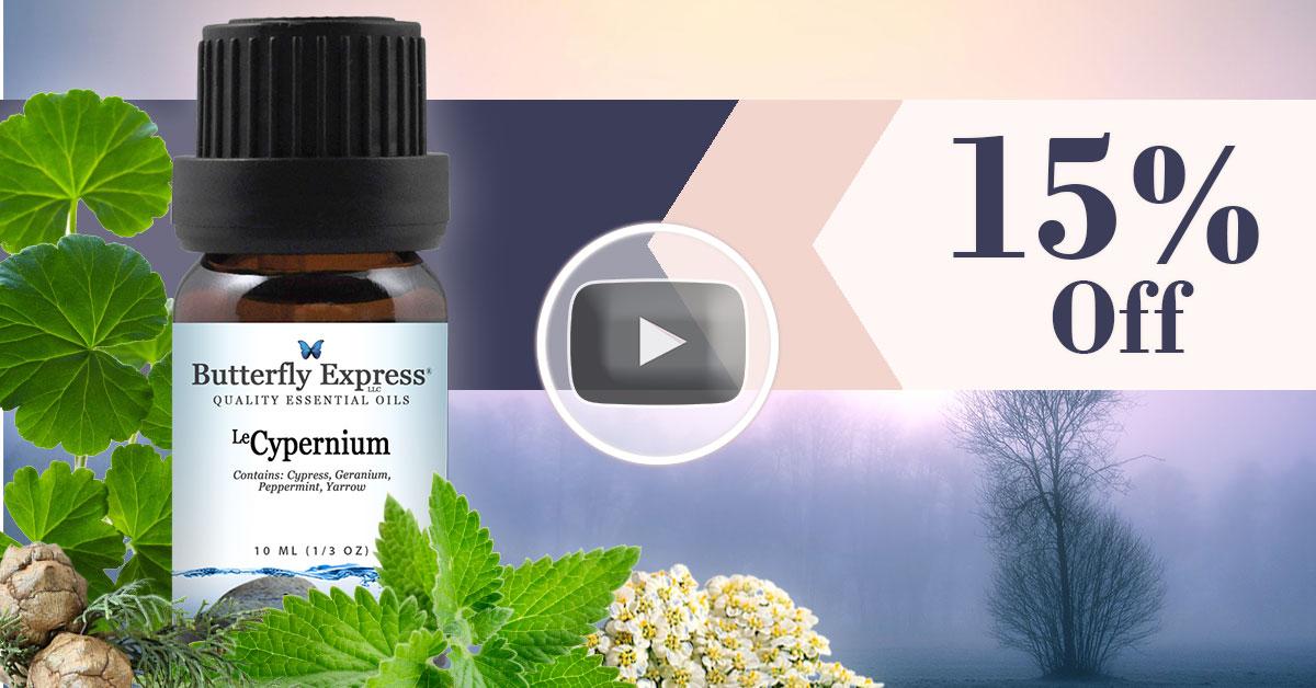 Le Cypernium Essential Oil Blend