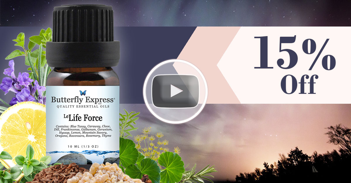 Le Life Force Essential Oil Blend
