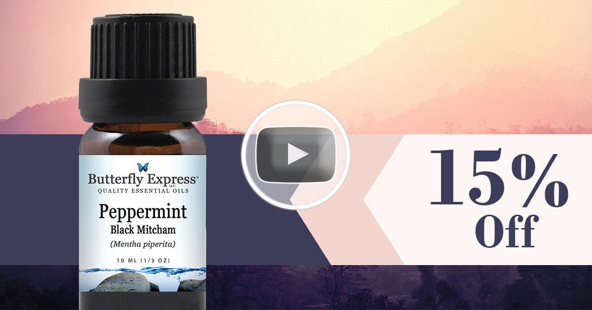 Peppermint Black Mitcham Essential Oil