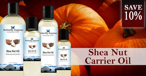 Save 10% on Shea Nut Carrier Oil