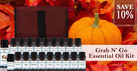 Save 10% on Grab N' Go Essential Oil Kit