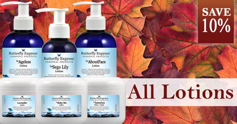 Save 10% on All Lotions