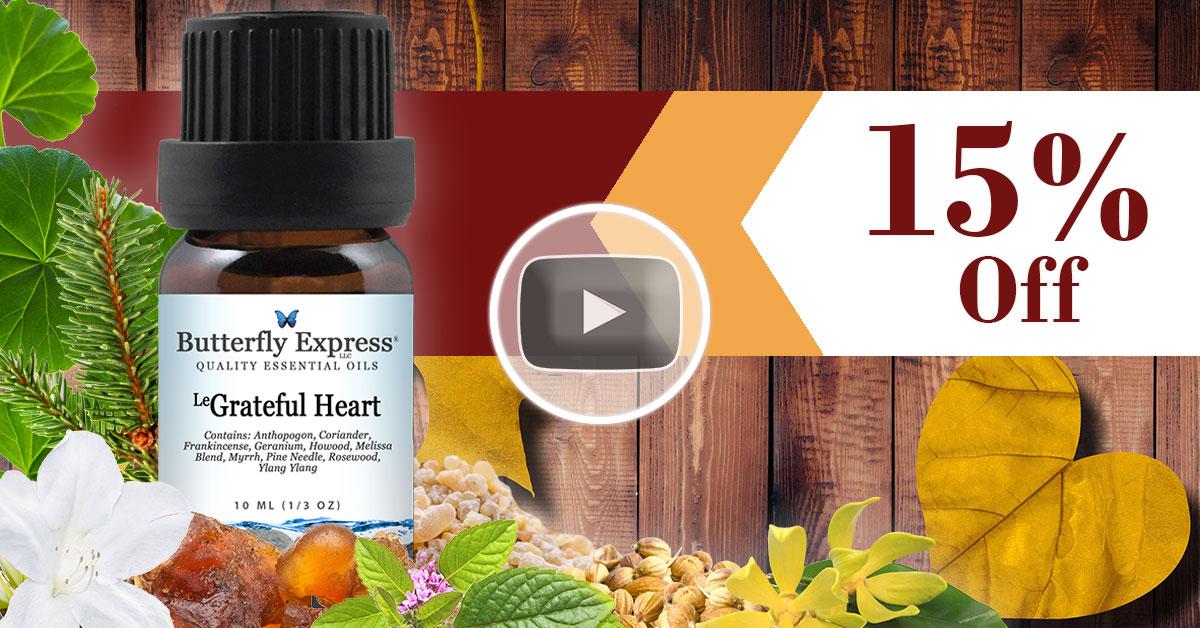 Le Grateful Heart Essential Oil Blend