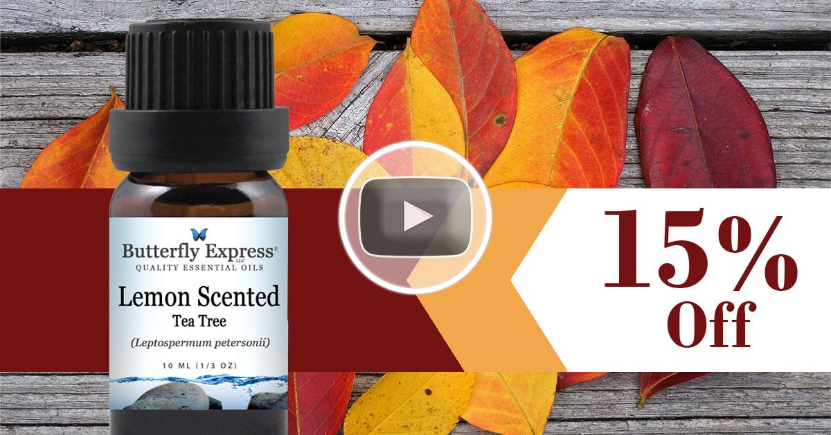 Lemon Scented Tea Tree Essential Oil