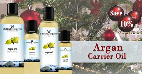 Save 10% on Argan Carrier Oil