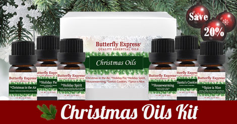 All Christmas Oils Kit