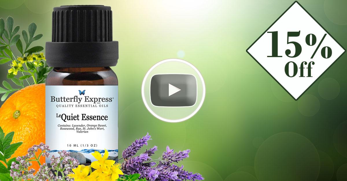Le Quiet Essence Essential Oil Blend