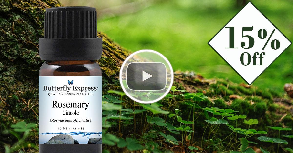 Rosemary Cineole Essential Oil