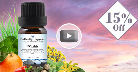 Le Vitality Essential Oil Blend