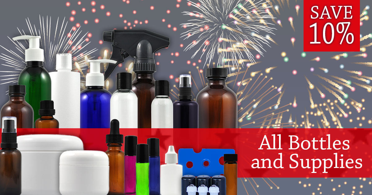 Save 10% on all Bottles and  Supplies