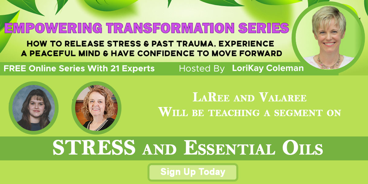 Stress and Essential Oils Class