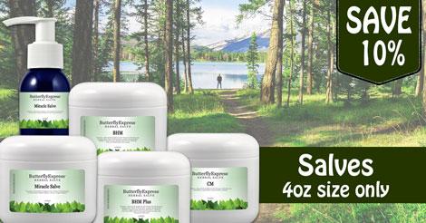 Save 10% all Salves