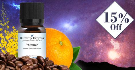 Le Autumn Essential Oil Blend