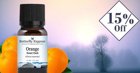 Orange Sweet Dark Essential Oil