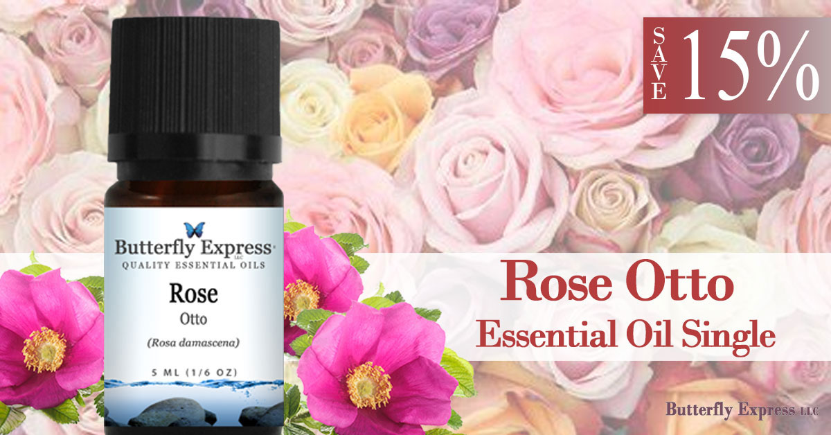 Save 15% on Rose Otto